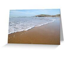 Fistral beach, Newquay, Cornwall. Greeting Card