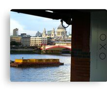 Across The River Thames Canvas Print