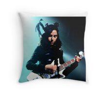 PJ Harvey Throw Pillow