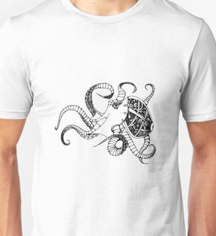 Cloctopus B&W Unisex T-Shirt