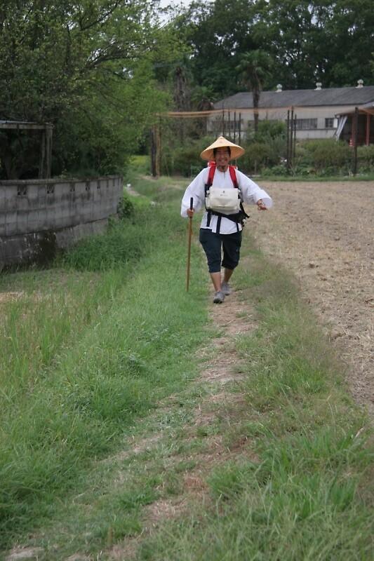 Lone pilgrim by Trishy