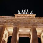brandenburg gate by ictin