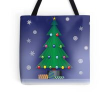 A Christmas scene Tote Bag