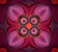 Quilted mandala by pelmof