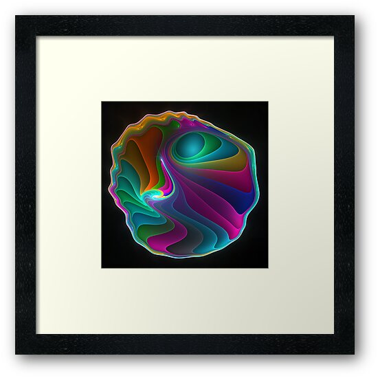 Colorful abalone shell  by pelmof