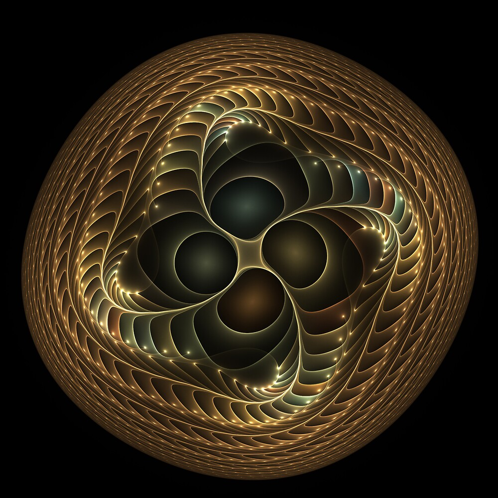 Copper button twist by pelmof