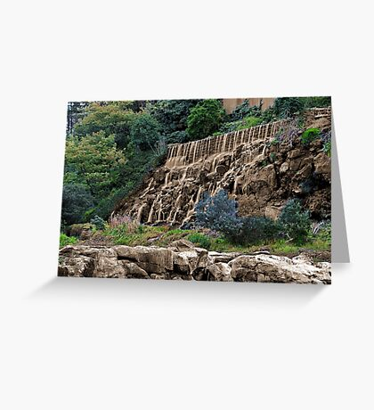 """Sepia Falls"" Greeting Card"
