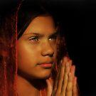 A Child's Prayer by Antoine Dagobert
