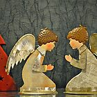Christmas angels by Arie Koene