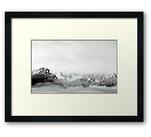 Happy Holidays - Pacific Northwest Framed Print