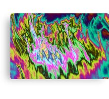 Psychedelic colors. Canvas Print