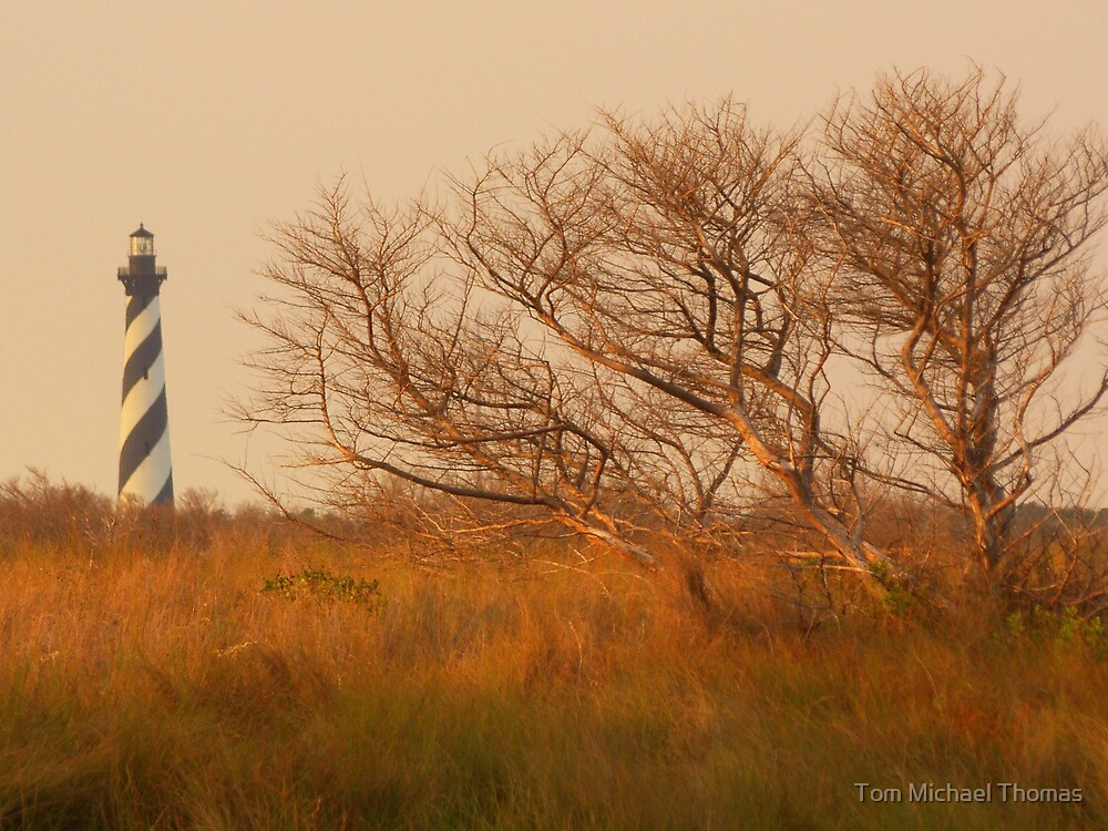 Cape Hatteras Lighthouse by Tom Michael Thomas