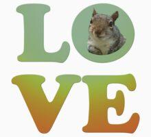 love squirrel by benyuenkk