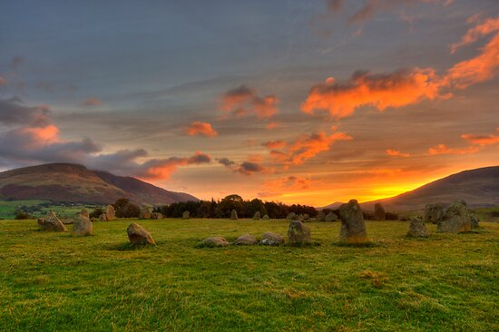 Stone Circle by Rich Gale