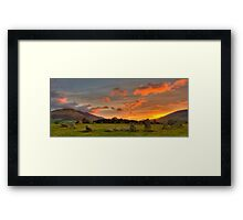 Castle Rigg Stone Circle Framed Print