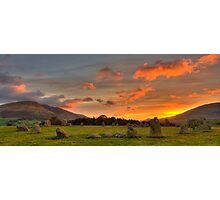 Castle Rigg Stone Circle Photographic Print
