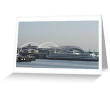Seattle Stadium  Greeting Card
