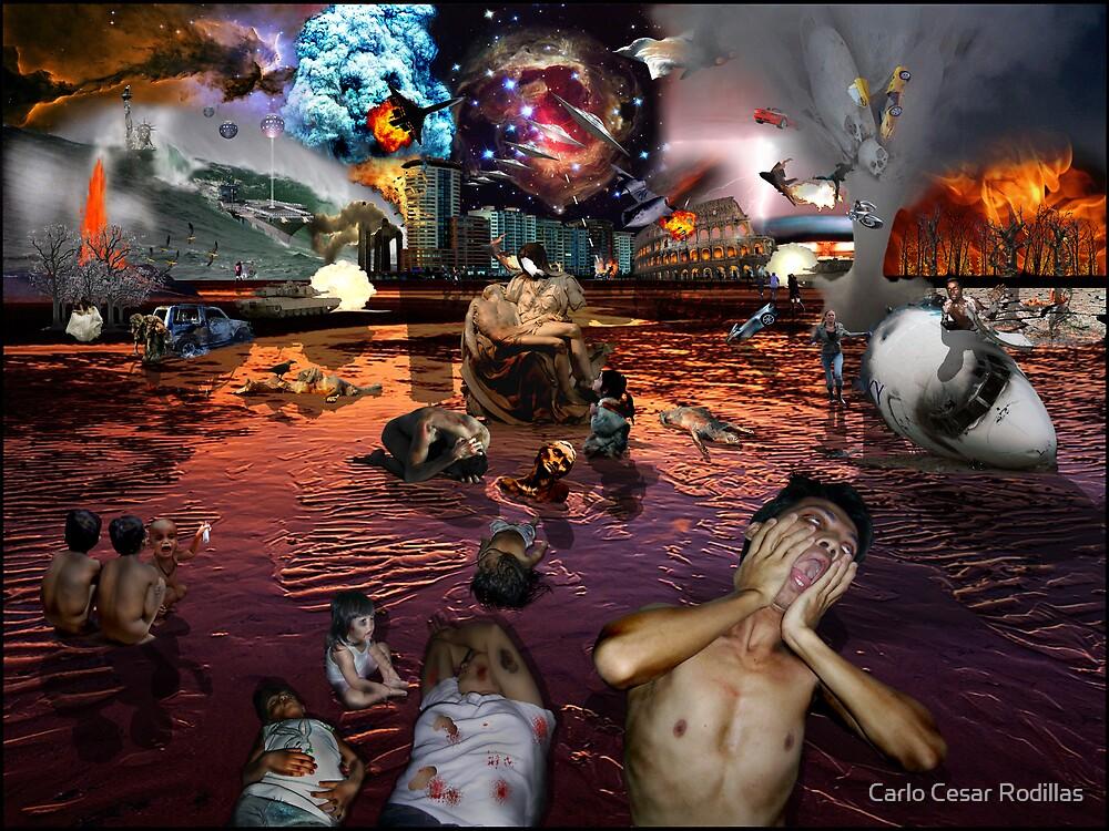 Oh My God, Please Help Us! by Carlo Cesar Rodillas