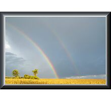 Rain and the Double Arc Photographic Print