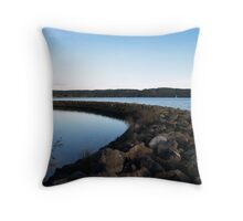 rock barrie Throw Pillow