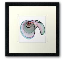 Fractal cornucopia Framed Print