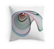 Fractal cornucopia Throw Pillow