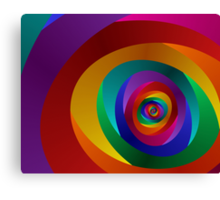 Concentric Canvas Print