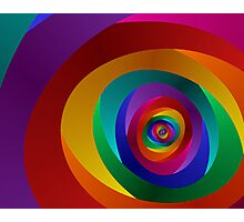 Concentric Photographic Print