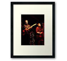 Sin & Tonics Framed Print