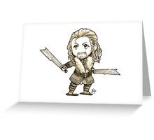 The Lion of Erebor Greeting Card