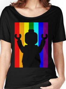 Minifig Pride Women's Relaxed Fit T-Shirt
