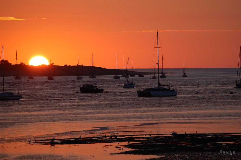 Sunset over Conwy 3 by JImage