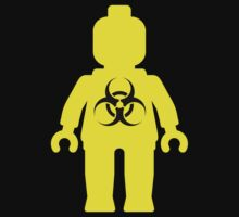 Minifig with Radioactive Symbol by ChilleeW