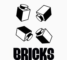 """BRICKS"", by Customize My Minifig Womens Fitted T-Shirt"