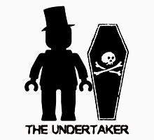 THE UNDERTAKER, by Customize My Minifig Womens Fitted T-Shirt