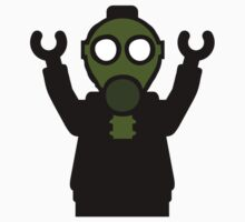 Apocalyse Minifigure wearing Gasmask Kids Clothes