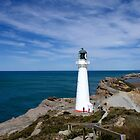Castle Point Lighthouse by Brenda Anderson