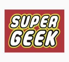 SUPER GEEK One Piece - Short Sleeve