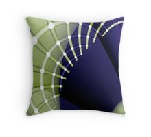 Fractal arches Throw Pillow