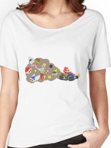 Mario Kart Item fury  Women's Relaxed Fit T-Shirt