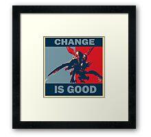 Kha'Zix - Change is Good Framed Print