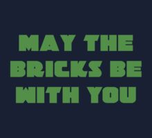 MAY THE BRICKS BE WITH YOU One Piece - Short Sleeve