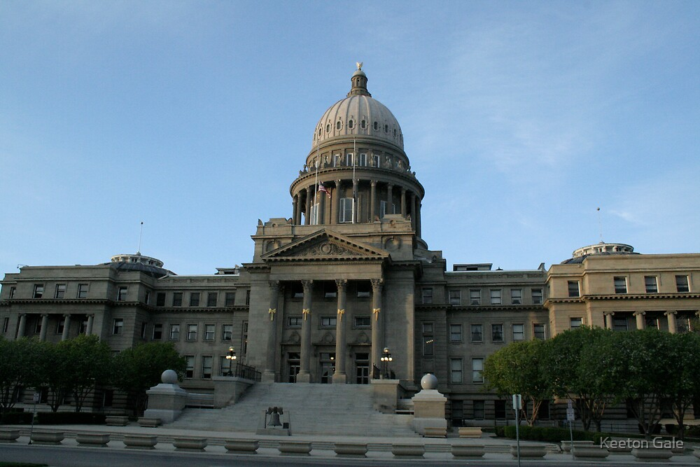 State Capital of Idaho by Keeton Gale