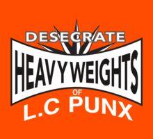 Desecrate - Heavy Wieghts Of L.C PUNX Kids Clothes