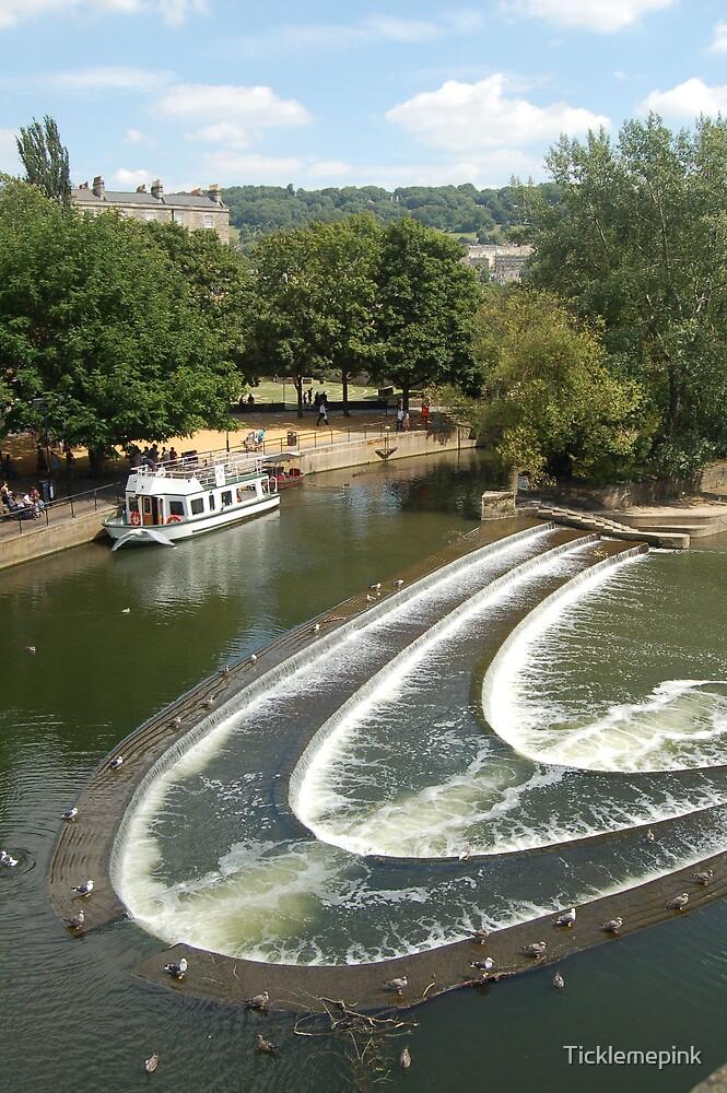 Weir at Bath by Ticklemepink