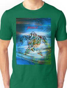 peace turtle aboriginal design Unisex T-Shirt