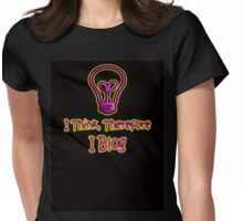 I Blog Womens Fitted T-Shirt