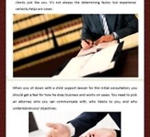 How to Find the Right Child Support Attorney in San Jose by Infographics