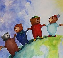 The Berlin Bears of Friendship by Monica Batiste