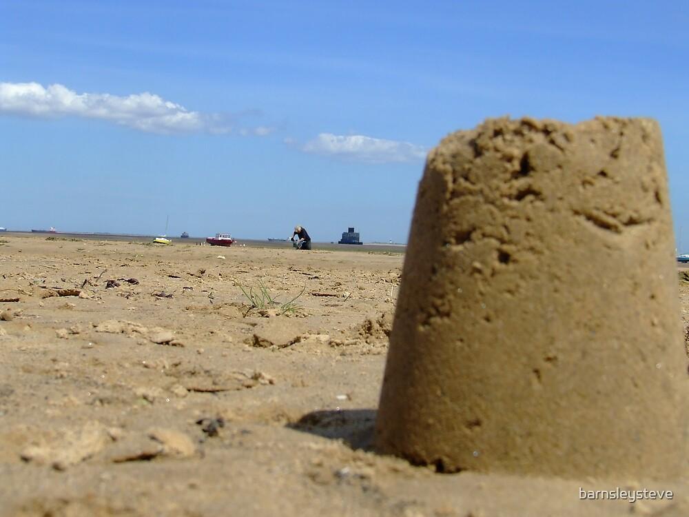 Fort Sand Castle by barnsleysteve